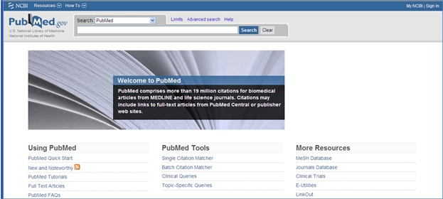 pubmed,medline,пабмед_как использовать